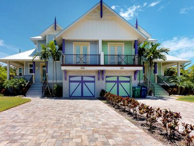 Photo for NEW LISTING! Breezy home w/ private pool & spa - two blocks from the beach!