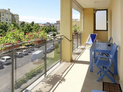 Photo for Albenga Apartment, Sleeps 6 with Air Con and Free WiFi