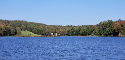 Photo for Private Lakefront, Deposit, NY- 3BR+/3BA Sleeps 8-10