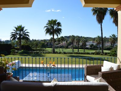 Photo for Villa 34121481, Nueva Andalucia, front line Golf Los Naranjos with heated pool