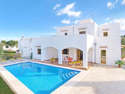 Photo for VILLA SMCD-RON, CALA D'OR - 4 Bedrooms, Private Pool, WiFi, A/C, BBQ