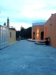 """Photo for Private """"Fortress"""" with ocean view and designed garden + pool. Luxurious area"""