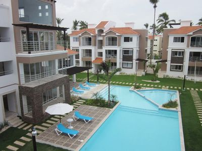 CorteSea gated condo community - Huge pool, fitness center, 8 min. walk to beach