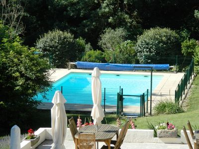 Photo for French farmhouse with beautiful converted gites with swimming pool in the Aude