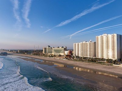Photo for Ocean Front Condo at Daytona Beach the week of July 4th
