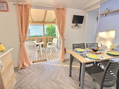 Photo for FAMILY MOBILHOME in camping 4 ****
