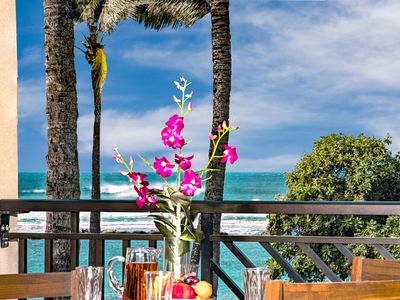 Photo for SPRING RATES ARE REDUCED! Second Level Studio Direct Ocean Views Villa 202