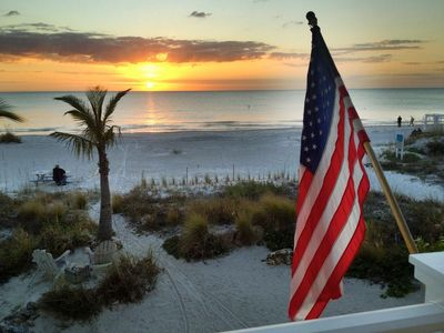 Photo for Beachfront Home in Indian Shores - Oceanfront Getaway  by Beach Time Rentals