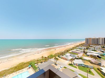 Photo for Gorgeous sunrises & sunsets from this ocean view condo w/private laundry & WiFi!