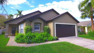 Photo for Spacious Home Close to Disney w/ Free WiFi & Private Pool with Spa