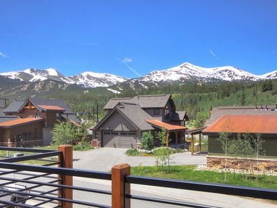 Photo for Brand New Luxury Townhome with Designer Interior and Views of Breckenridge!