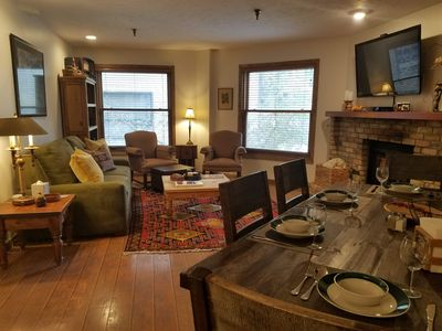 Photo for Ski Team 2 BR condo in Old Town - walk to skiing!