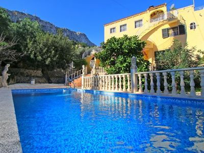 Photo for 3 bedroom Villa, sleeps 5 with Pool, Air Con and WiFi
