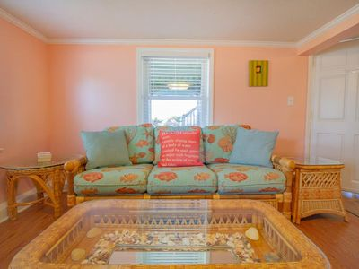 Photo for Ocean Mist Lower - Oceanfront, Pet-friendly, Great location in Kure Beach!