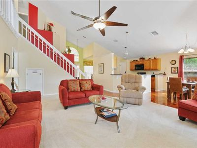 Photo for Beautiful 2 Story 4 Bedroom 2.5 Bath Pool home Less than 5 miles to Disney (3178)