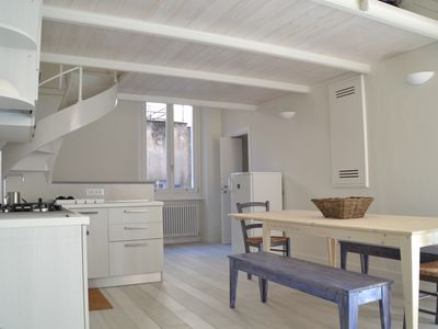 Photo for Terra Azzurra - Beautiful bright apartment in centre of Finale, 2 min from beach