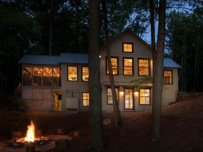 Photo for Spectacular New Lakefront Cottage, available for Xmas,25 mins to Hanover/Sunapee