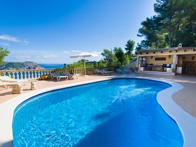 Photo for Large Villa with Private Pool and Magnificent Sea Views. Golf within 15 mins.