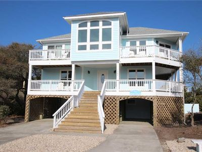Photo for #VOH11: Partial OCEAVIEW Home in Corolla w/HtdPool, HotTub & RecRm
