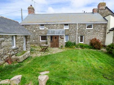 Photo for TYVOUNDER, pet friendly, with open fire in Porthcurno, Ref 935841