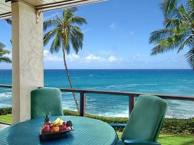 Photo for Poipu Makai B-2: Gorgeous Condo with Unbelievable Ocean Views