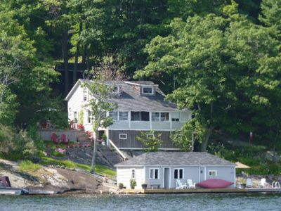 Photo for Waterfront Cottage on Lake Rosseau's beautiful Tobin Island, Muskoka