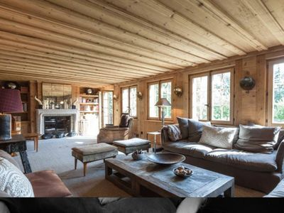 Photo for Luxurious Chalet with Hot Tub right next to Gstaad