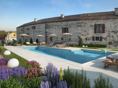 Photo for Aquileia Residence # 5 - peaceful, private garden, large pool, close to Grožnjan