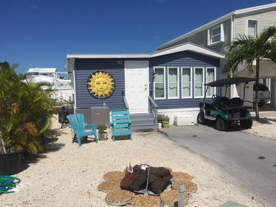 Photo for WATERFRONT fresh & cozy 2 bedroom 35 sea wall New UV light air purification safe