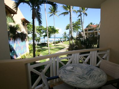 Photo for Luxury suite room in beachfront resort, near all, pool/cable TV/Wi-fi/fridge