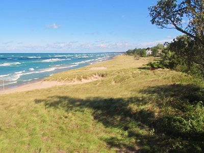 Photo for Asher's Lake Michigan Premier 2BR Beachfront Lake Facing  Condo-Monthly Rentals