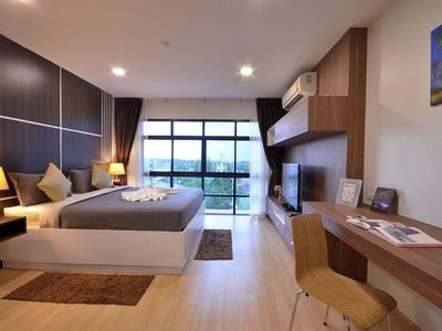 Photo for 382 m from the center of Choeng Thale with Pool, Air conditioning, Lift, Parking (396126)