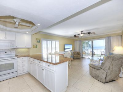 Photo for Vacation Villas unit 131 - Luxury 2 bed/2 beach front condo on Fort Myers Beach