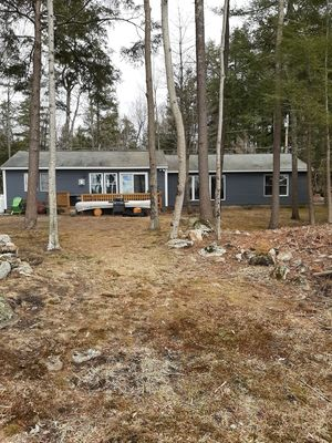 Photo for Little Sebago Home Newly Remodeled with Sandy Beach and Sunsets