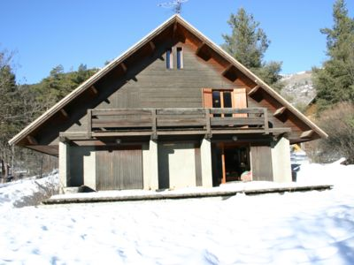 Photo for Rustic and authentic chalet at serre chevalier