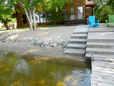 Enjoy one of the best sand beaches on Lake Vermilion!