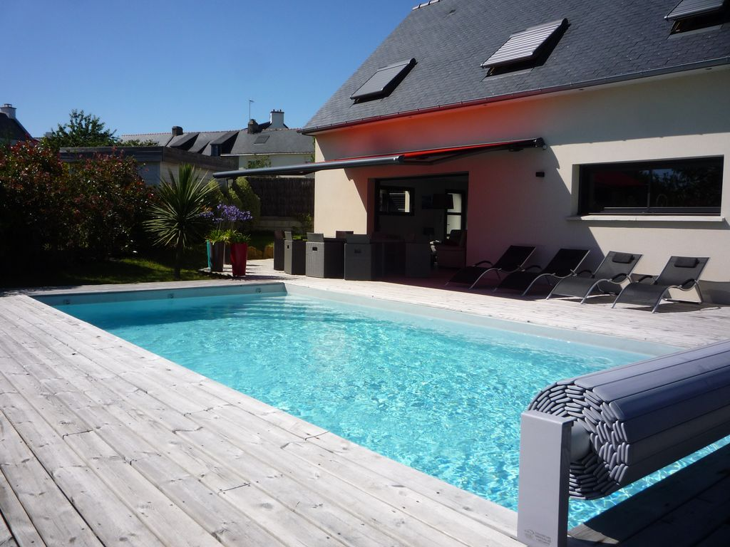 Beautiful home with heated pool and spa 200 meters for Camping avec piscine pays basque