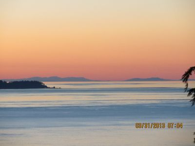 Photo for FABULOUS VIEW!!! ROMANTIC SUNSETS AND HOT TUB.      PETS WELCOME