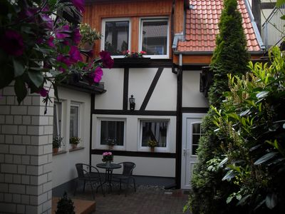 Photo for small half-timbered house, quiet location, right in the center, 6 km to the beach - Baltic Sea
