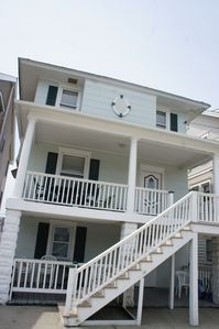 Photo for PET FRIENDLY HANDICAP ACCESSIBLE CONDO 1/2 BLOCK FROM BOARDWALK AND BEACH!