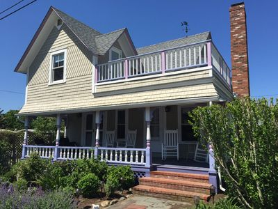Photo for Recently Renovated - Air-conditioned. Walk to everything in Oak Bluffs