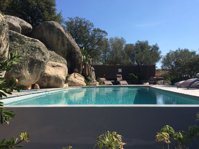 Photo for STUDIO SWIMMING POOL IN THE QUIET GARDEN NEAR PORTO VECCHIO