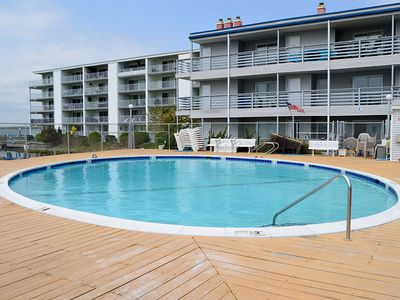 Photo for Great Location! Bayside Condo w/ Pool - Walk to Beach & Convention Center