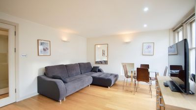 Photo for Spacious Lexham Gardens 7 apartment in Kensington & Chelsea with WiFi & lift.