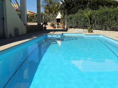 Photo for CASA MARIO,Ideal house for your holidays near the sea, free wifi, air conditioning, private pool, pets allowed, dog's beach.
