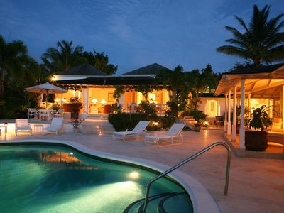 Photo for Golf Villa with Swimming Pool, Free Beach Club Access, Cook/Housekeeping Included, Free Wifi
