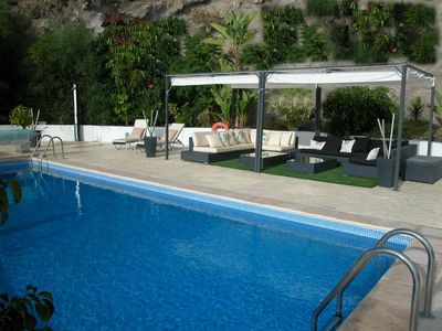 Photo for Large private villa with private heated pool in a secluded position for max. 10 pers.
