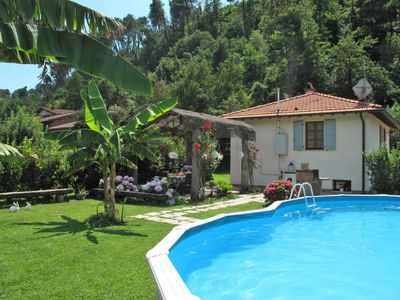 Photo for 2 bedroom Villa, sleeps 6 in Luciano with Pool