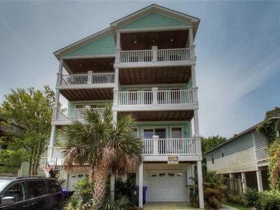 Photo for Rest Ashored: 5 BR / 4.5 BA duplex - 1 side in Carolina Beach, Sleeps 12