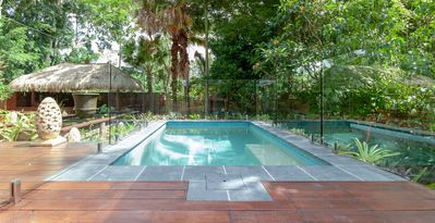 Plunge Pool  Bliss Cottage, Luxury Accommodation Byron Bay Hinterland